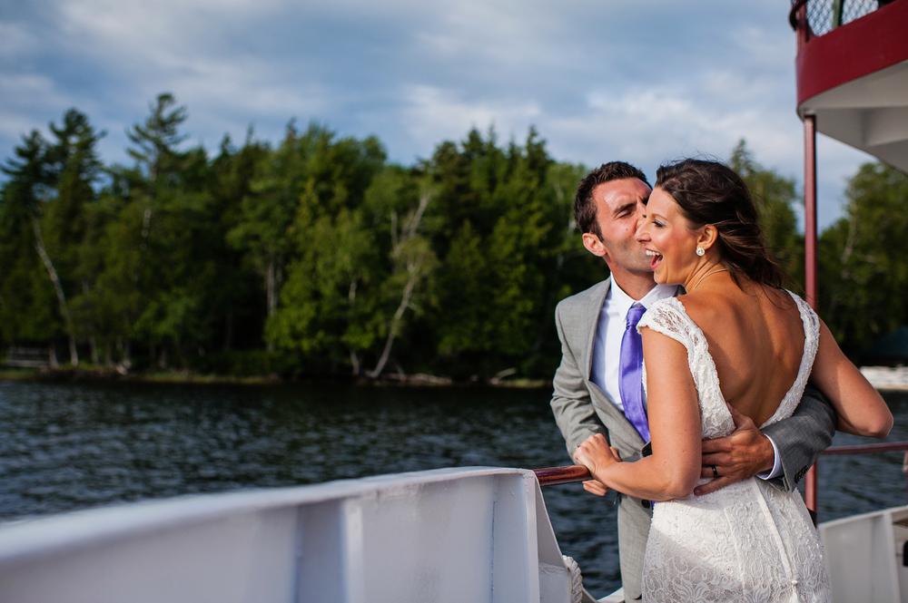 Raquette Lake Navigation Adirondack Wedding