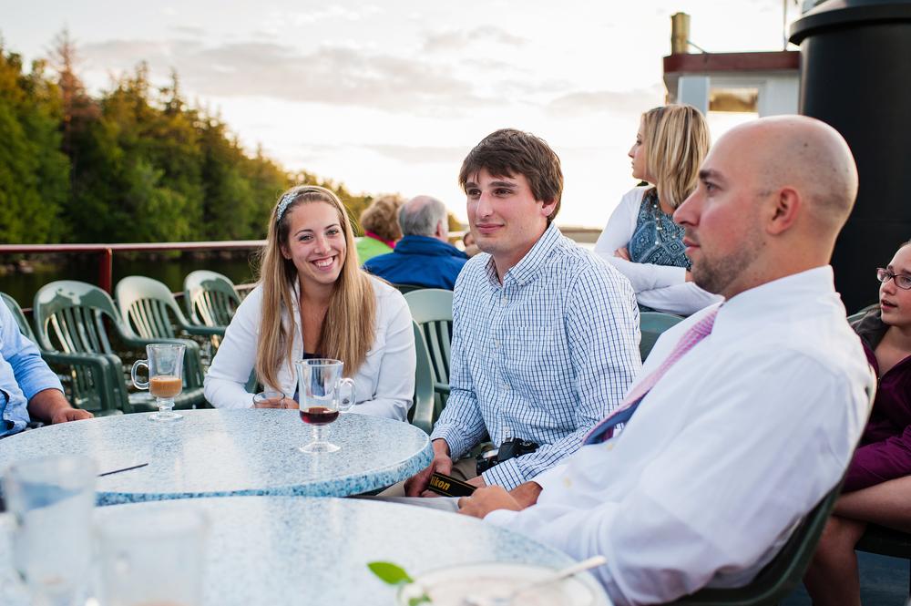 Raquette Lake Navigation Dinner Adirondack Wedding
