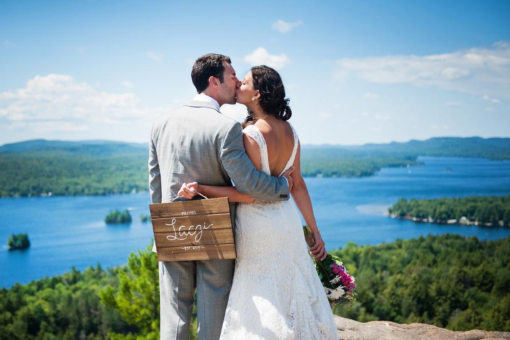 Adirondack Wedding Rocky Mountain Day After Photos