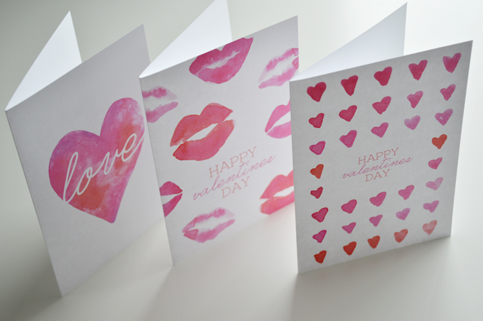 Free Valentines Day Printables + Desktop Downloads