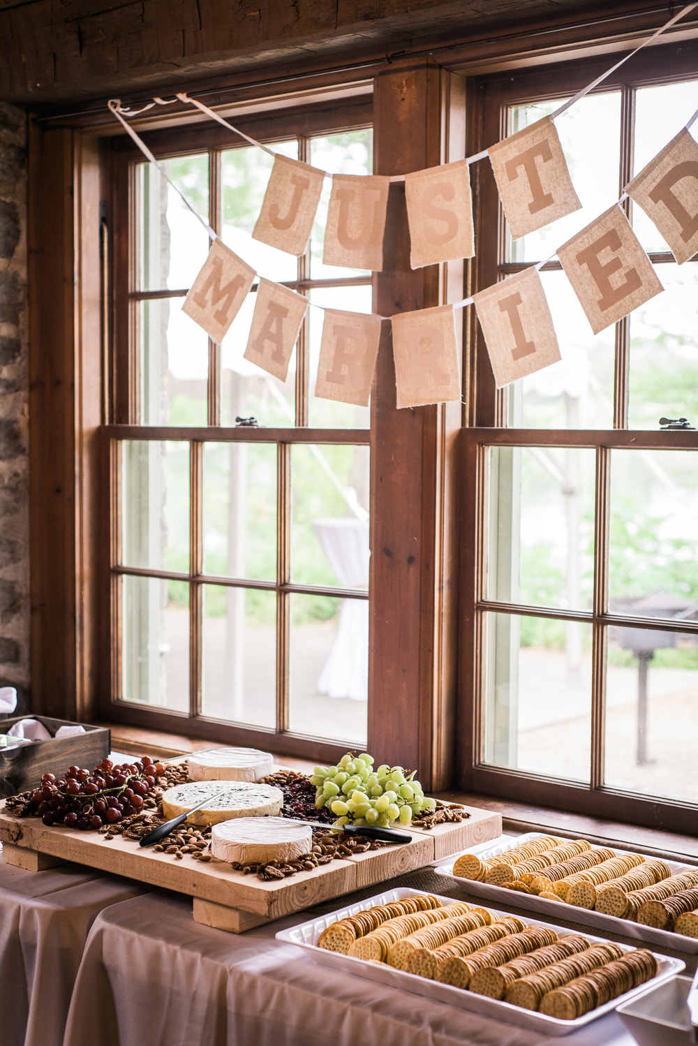 Cheese Plater Wedding Reception