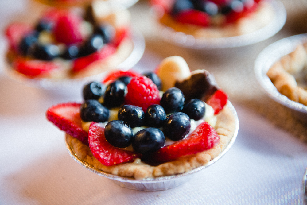 Wedding Reception Fruit Tarts