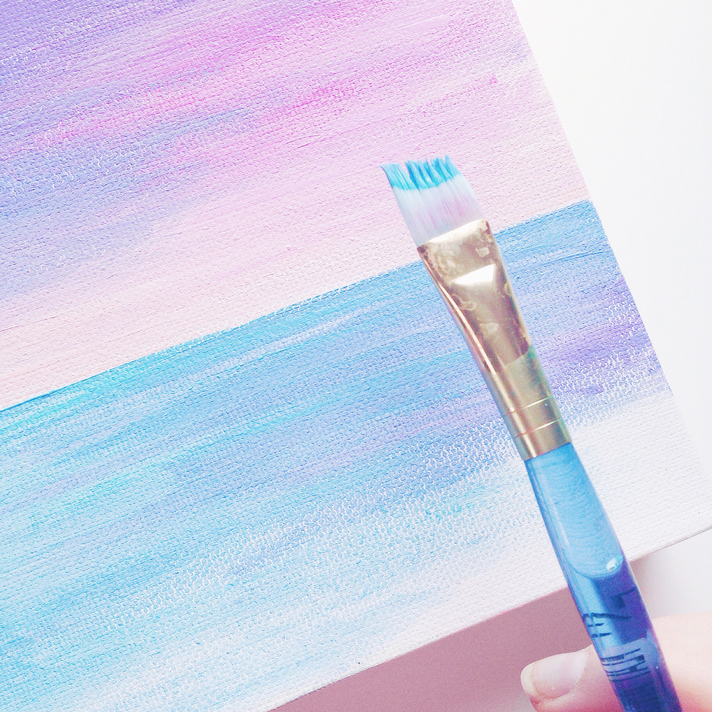 Hawaiian Seascape | Acrylic Painting | Behind the Scenes | Hello Monday Design