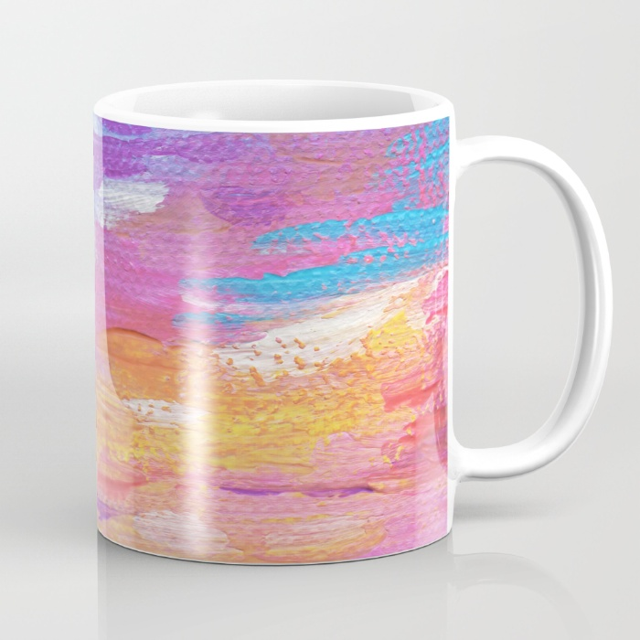 Hawaiian Neon Sunset Mug
