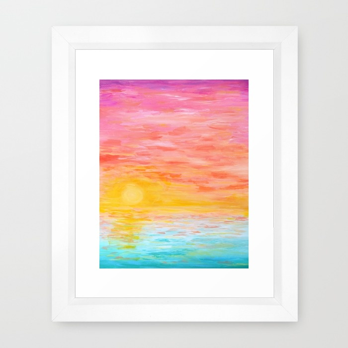 Sunset Love Print | Hello Monday Design