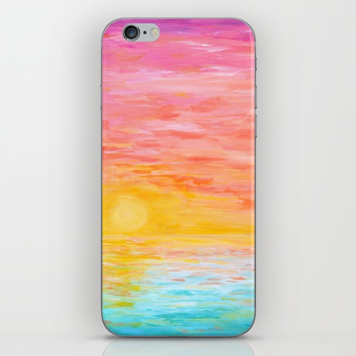 Sunset Love iPhone Skin | Hello Monday Design