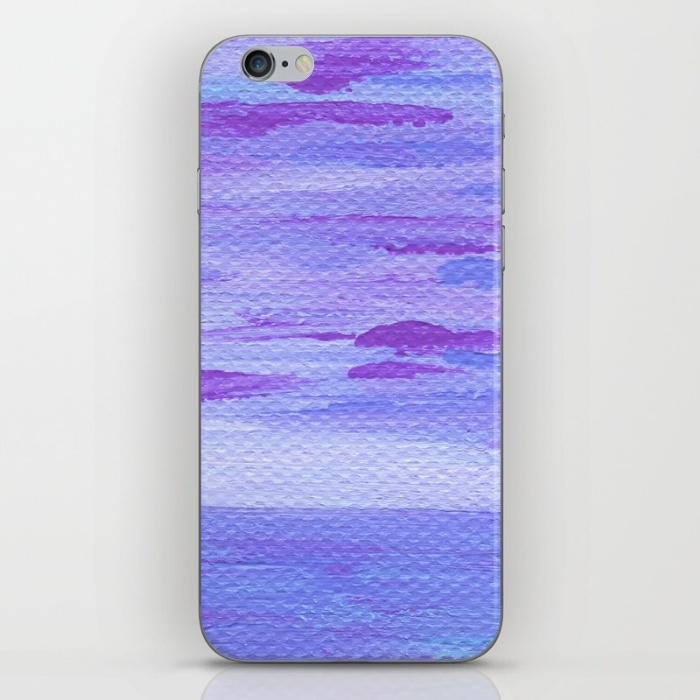 Lilac Seascape iPhone Case