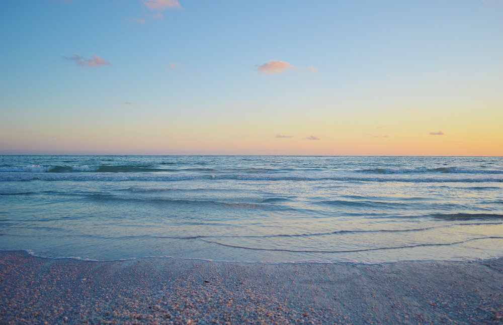 Lido Key Sarasota Florida Sunset Beach Photo by Kristen Laczi