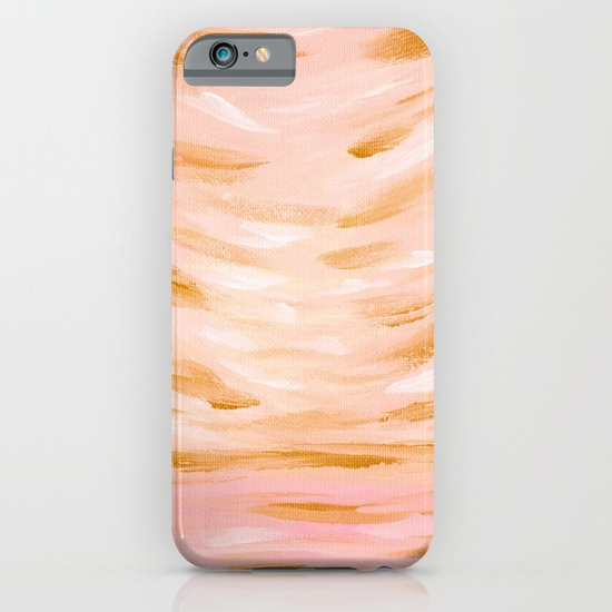 Golden Hour Peach Coral Phone Case Society6 Kristen Laczi