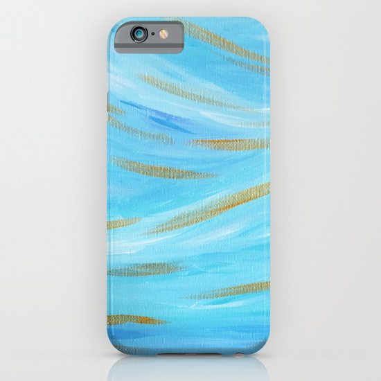 Golden Hour Blue Gold Phone Case Society6 Kristen Laczi