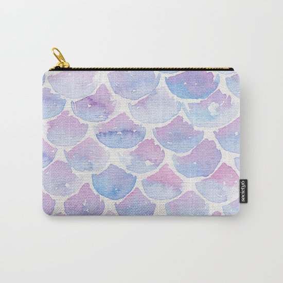 Kristen Laczi Mermaid Scale Purse