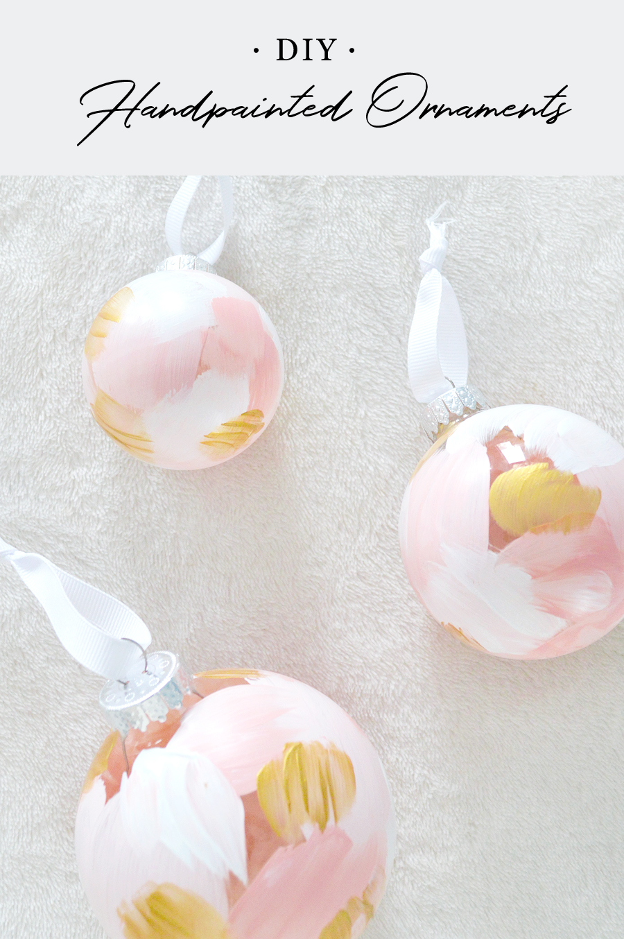 DIY Handpainted Ornaments with Kristen Laczi
