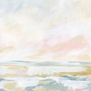 Golden Hour Pastel Seascape by Kristen Laczi