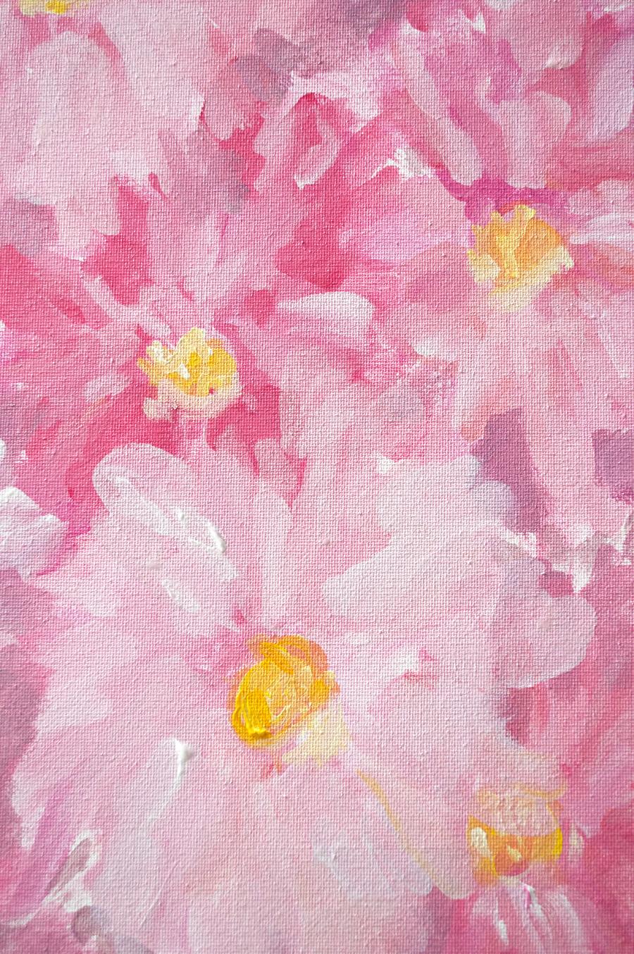 Dahlia Painting by Kristen Laczi