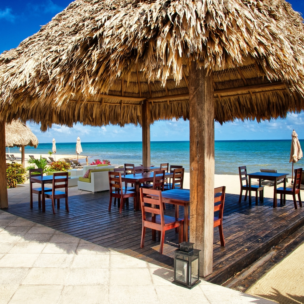 Beach Dining at Belize Ocean Club and Resort