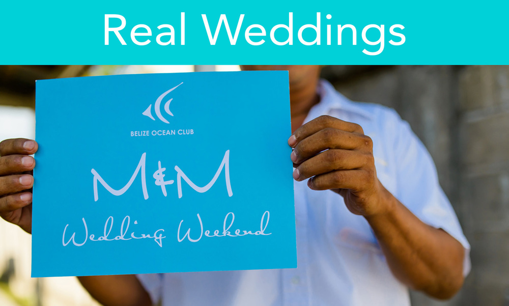Gather inspiration and ideas from real couples wedding days! Watch one couple's beautiful summer wedding. See how Belize Ocean Club can make your wedding an intimate friend gathering with vibrant Caribbean colors.