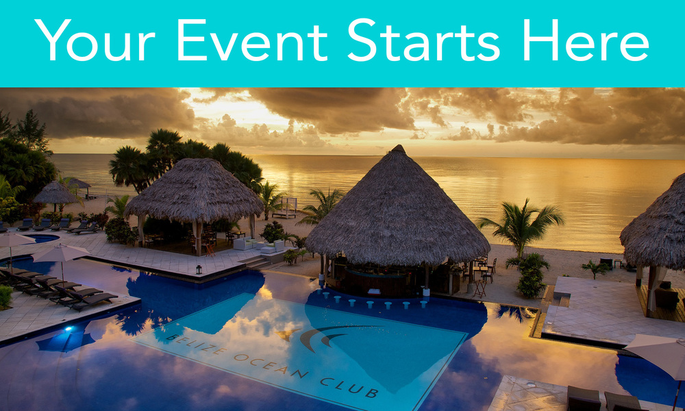 Belize Ocean Club welcomes groups from all around the world. The resort is a perfect fit for meetings, incentive programs, executive retreats, destination weddings, family reunions, and the special friendly get-a-way of a lifetime.