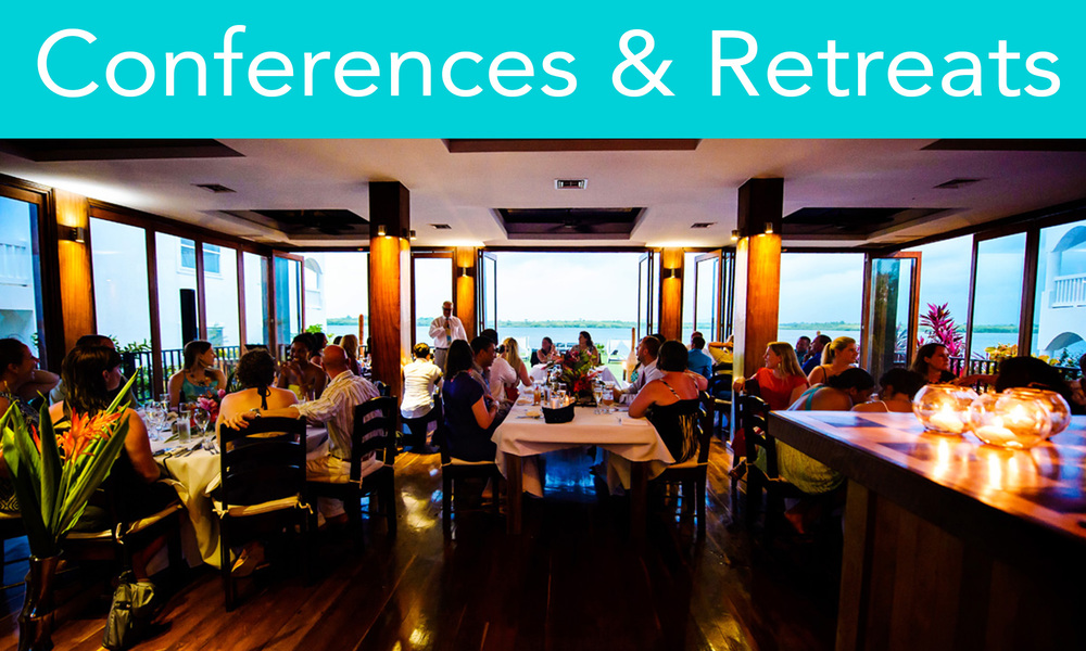 Our private location combined with superb cuisine and attentive service makes your conference stand out. We host high-level meetings, government summits, presentations, sales events   and planning workshops and we are happy to discuss any other unique retreat options.