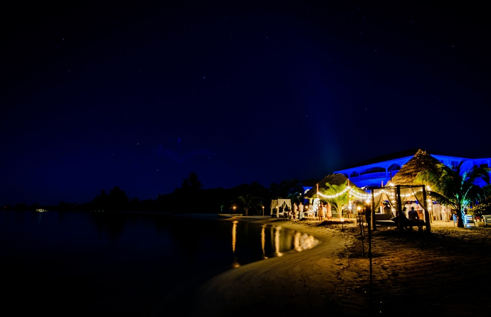 Private Beach Party at Belize Ocean Club and Resort