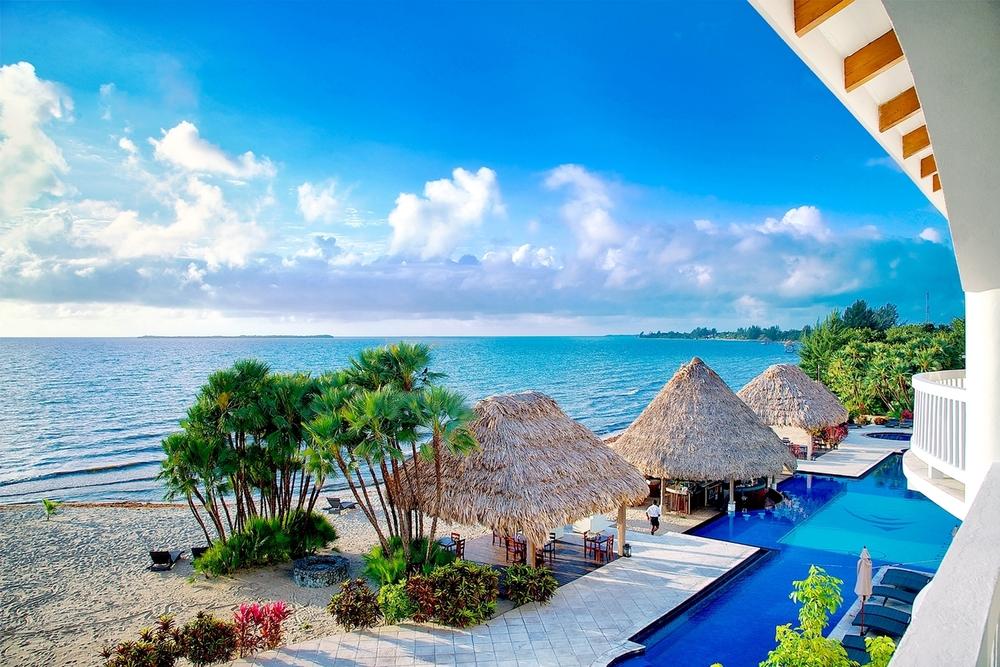 Belize Resort Pool & Beach