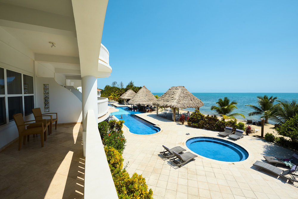 placencia belize hotel on beach
