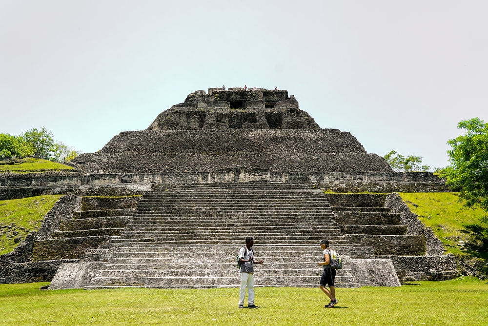 Tour Ancient Ruins - From Xunantunich to the Southern Ruins, touring ruins from ancient Belizean civilizations is a fun way to learn about local history. This is a full day tour and includes lunch.