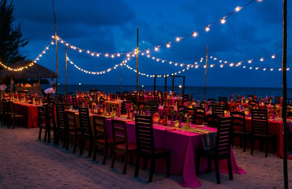 Beach Banquet at Belize Ocean Club and Resort