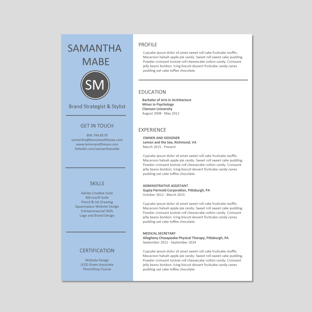 Resumes That Get Noticed Cover Letter