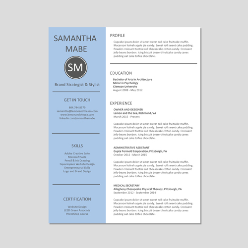 Create A Resume That Stands Out Lemon And The Sea What You Need On