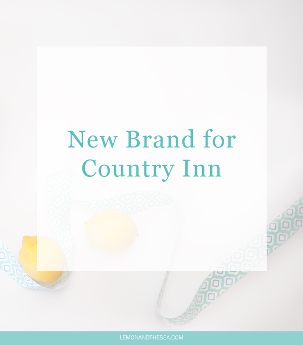 The Old Farmhouse Inn | Lemon and the Sea: New pattern and print design for a small country inn