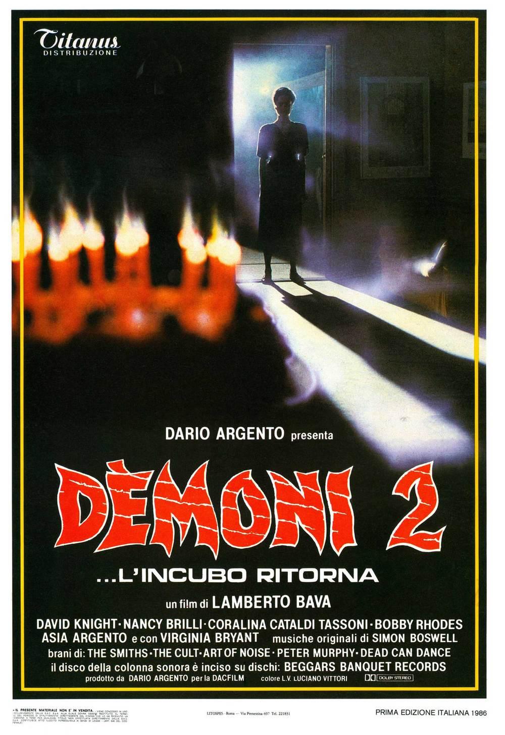 Demons 2 Starring Coralian Cataldi-Tassoni