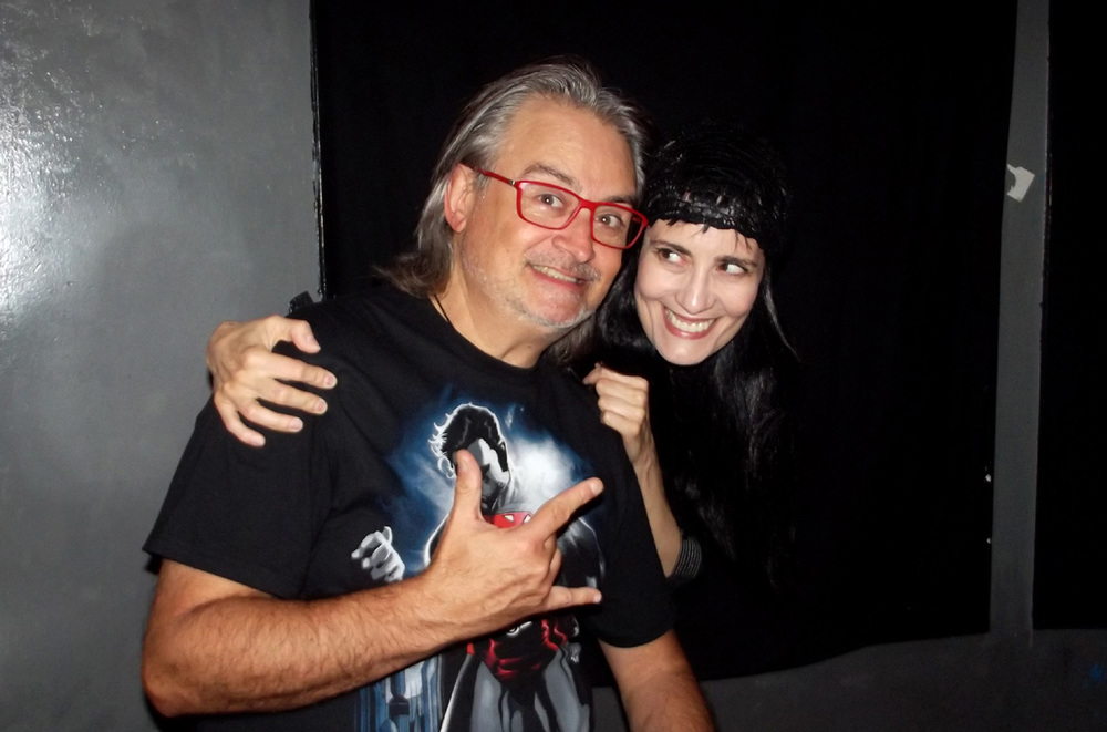 Backstage Coralina Cataldi-Tassoni & Claudio Simonetti, Webster Hall, NYC.JPG