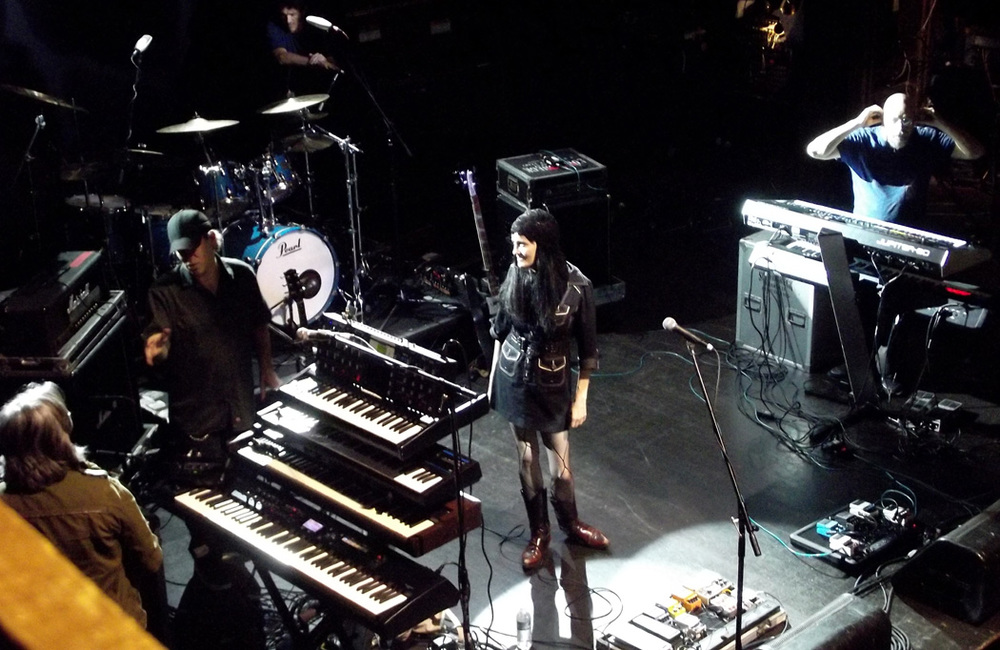 Coralina Cataldi-Tassoni sound check Webster Hall.jpg