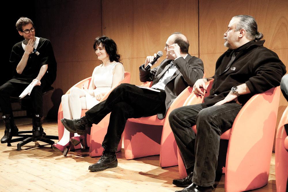 BOOK PRESENTATION ANCONA, ITALY Filippo Brunamonti, Coralina Cataldi-Tassoni, Mariano Baino, Sergio Stivaletti by Mattia  Santini (8).jpg