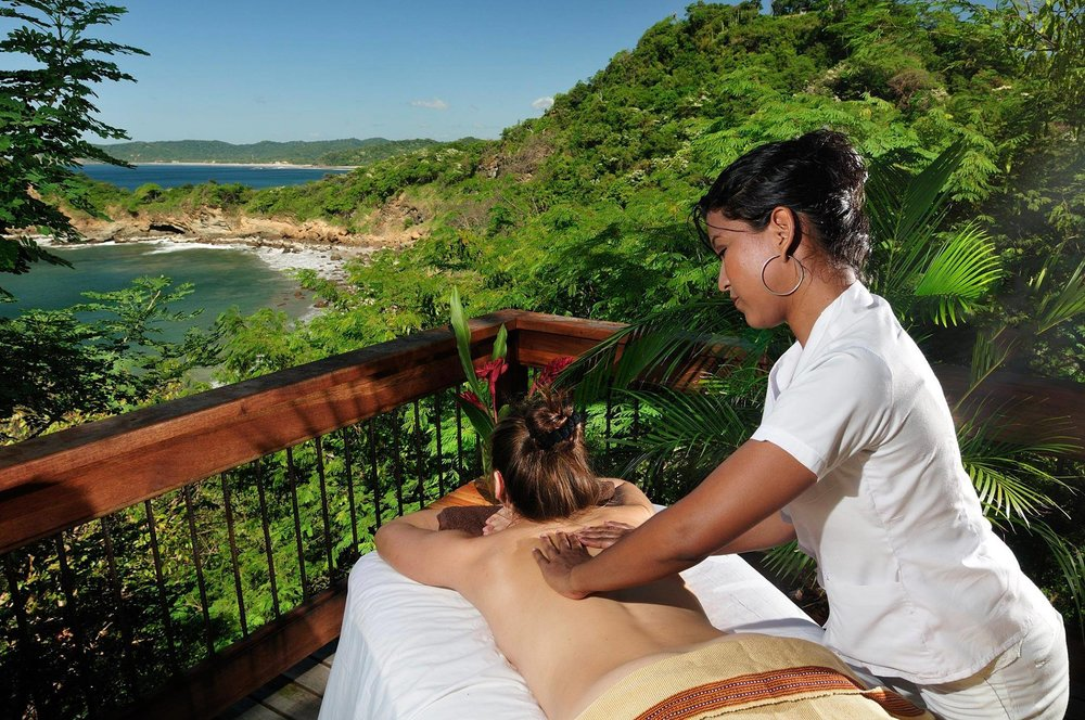 Do you picture yourself here? - On the retreat you get 3 hours of undisturbed Spa time! There is no better way to relax. Not into the spa? We can organize alternatives such as surfing!
