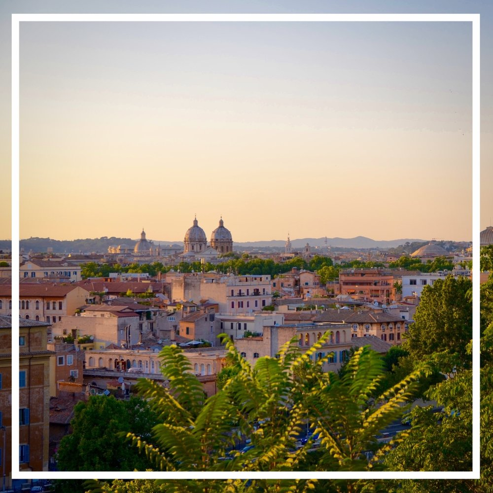1. Rome for a couple days - Fly to Rome and spend a night there settling in. Make sure to hit some of the traditional sights such as the Colosseum, Pantheon and Trevi Fountain but also enjoy just wandering. We love to roam the city streets and take in all the history. We also love to eat the traditional dish called Cacio e Pepe at the restaurant,  in Testaccio.