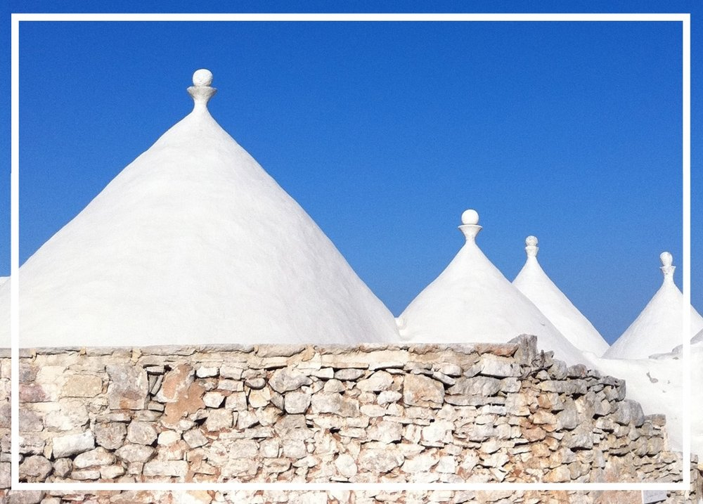 Yoga Retreat in Puglia - Next Dates July 2018Puglia is a melting pot of historical culture having been inhabited by the Greeks, French, Turkish and Romans at different points in time. It remains one of the most beautiful parts of Italy with its white washed town, crystal clear seas, characteistic Trullo and food to die for.