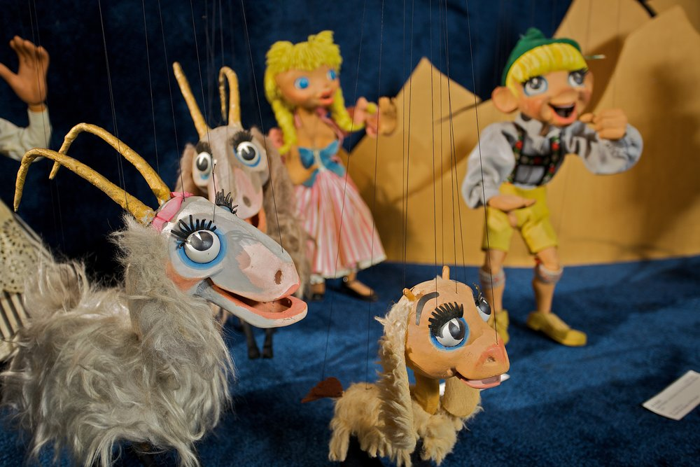 Puppets from the Sound of Music