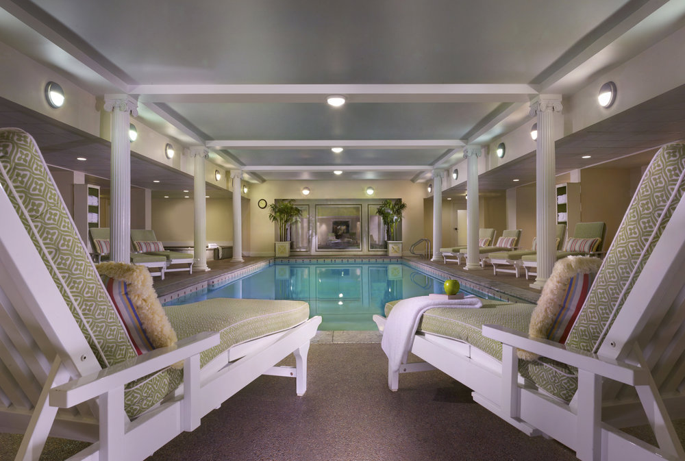 Indoor Pool at the Mt. Washington Hotel