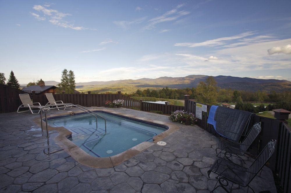 Hot Tub at Von Trapp Family Lodge