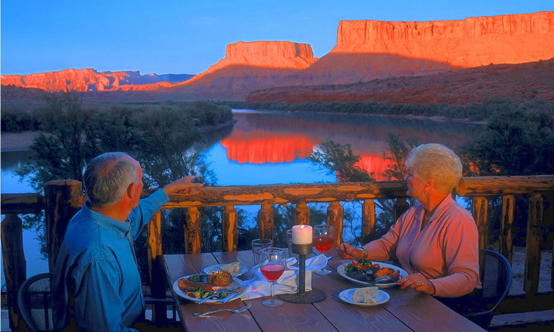 Photo Courtesy of the Red Cliffs Lodge