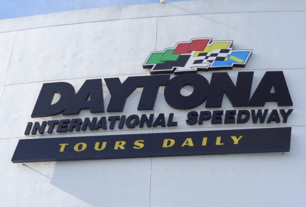 Entrance of the Daytona International Speedway