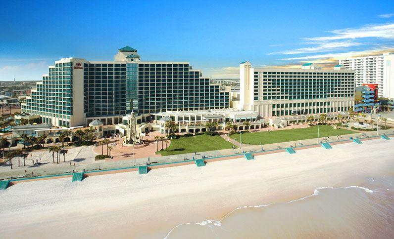 Exterior View of the Hilton Daytona Beach