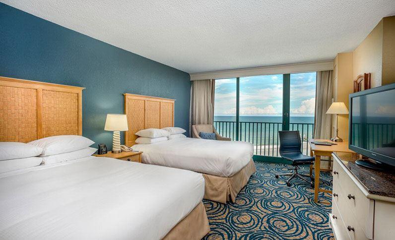 Room at the Daytona Beach Hilton