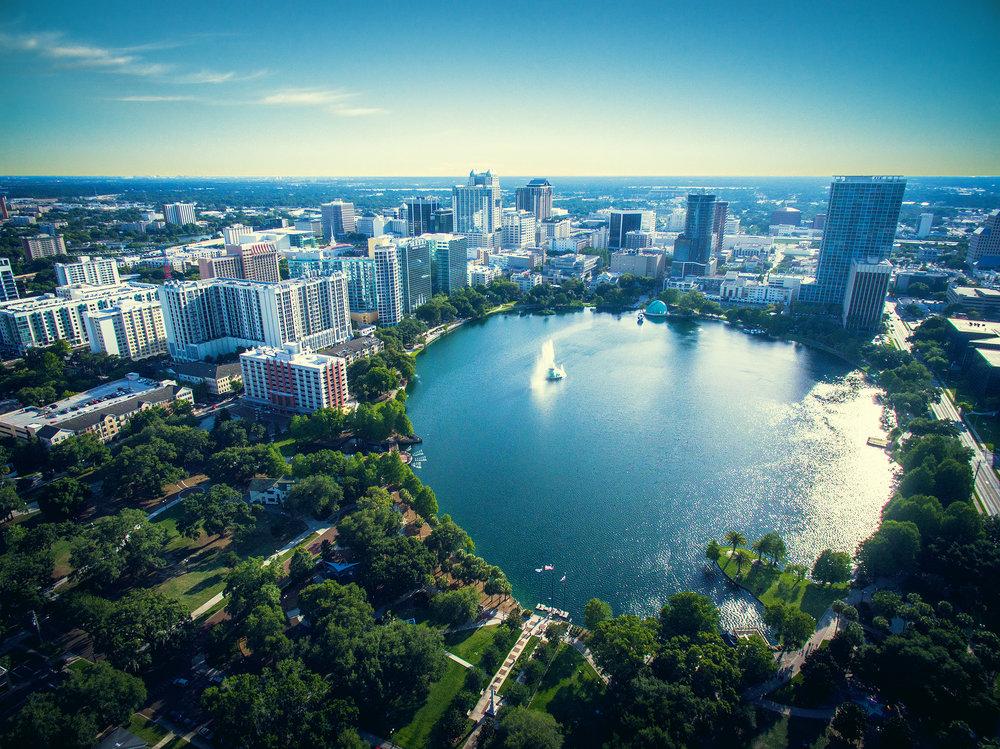Lake Eola in Downtown Orlando