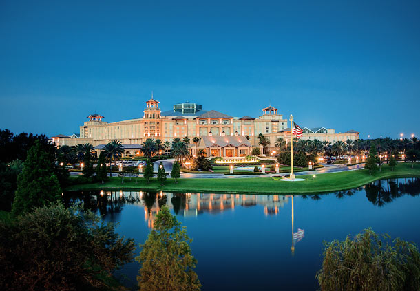Exterior of the Gaylord Palms Resort