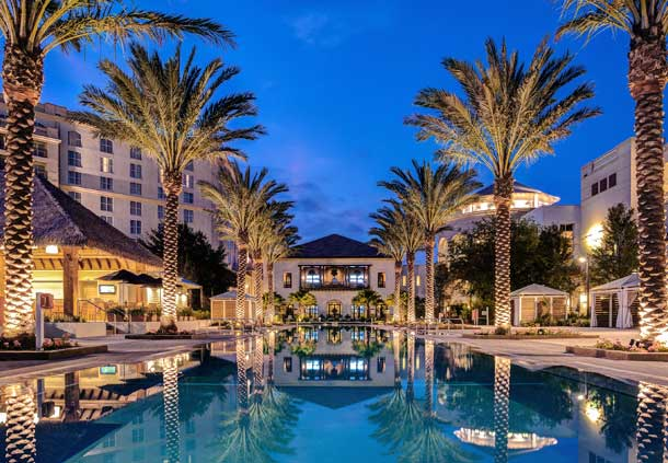 Pool at the Gaylord Palms Resort