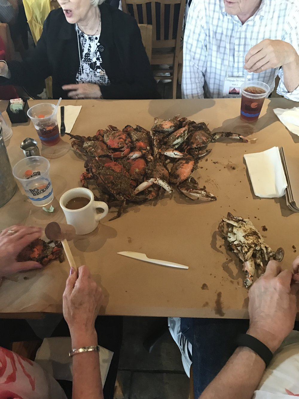 Crab Feast at Bo Brooks Restaurant