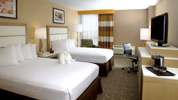 Room at the DoubleTree Virginia Beach