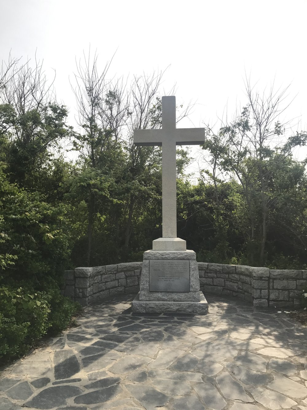 Cross Memorial at First Landing Point